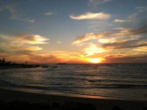 Ranchos_Beach_at_Sunset