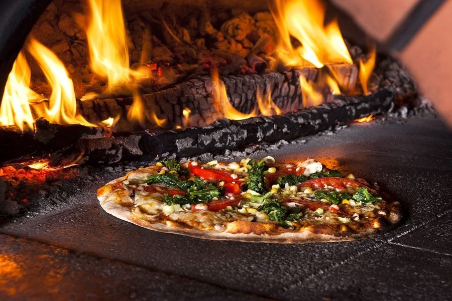 Authentic Wood-Fired Pizza